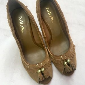 Moccasin Inspired Heel by MIA